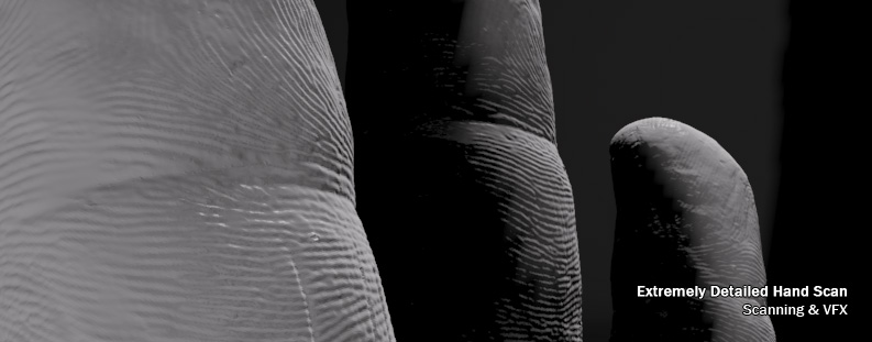 Incredibly Detailed Hand Scan