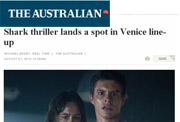 Shark thriller lands a spot in Venice line-up