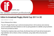Rugby World Cup Broadcast